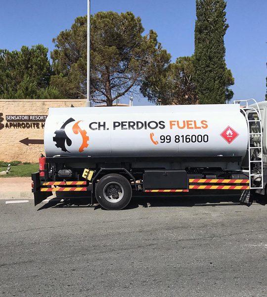 Perdios Fuels - Service, Distribution